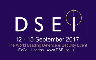 September 2017, Eurocontrol SpA at DSEI 2017 in London