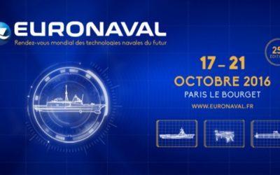 Eurocontrol Spa exhibits at EURONAVAL in October 2016