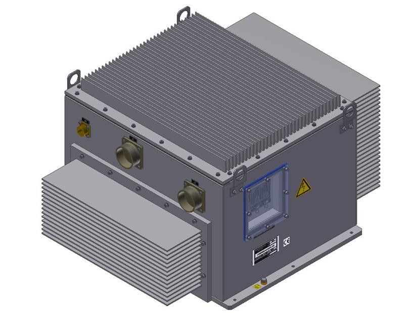 AC motor starter, 10 kVA, Vin 450-900 Vdc - Power electronics