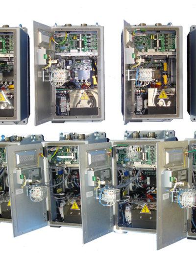 AC motor starter, 10 kVA, Vin 180-240 Vdc