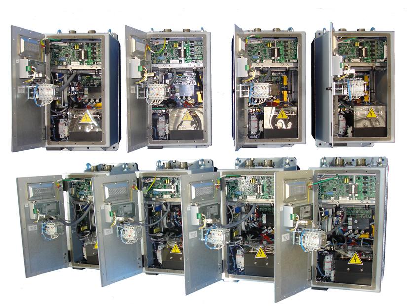 AC motor starter, 10 kVA, Vin 180-240 Vdc - Power electronics