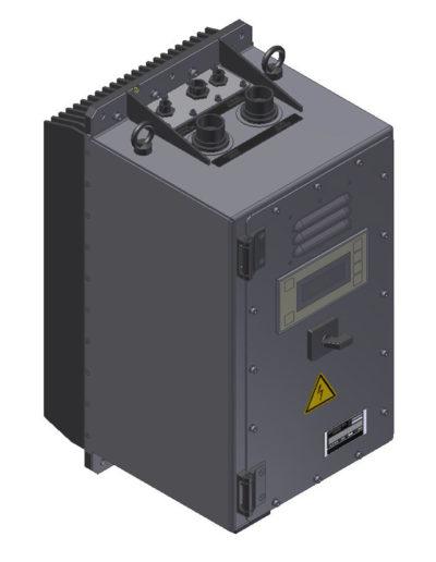 AC motor starter, 10 kVA, Vin 180-240 Vdc Q677-5