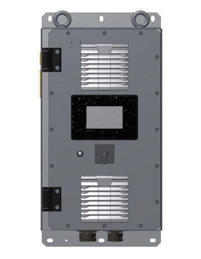 AC motor starter, 10 kVA, Vin 450-900 Vdc Q726-3