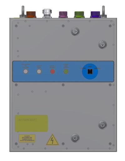 Capstan & windlass drive / Control system Q767-3