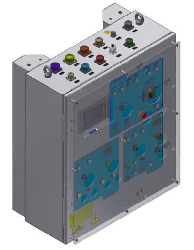 Capstan & windlass drive / Control system Q768-1