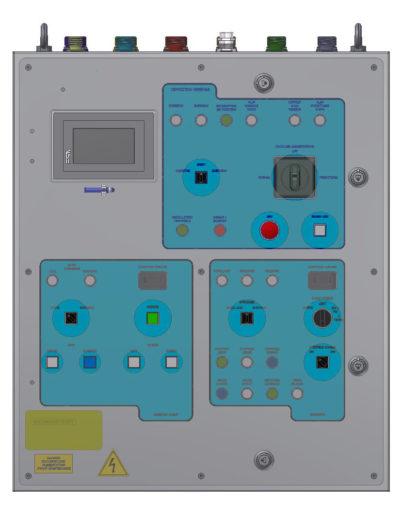Capstan & windlass drive / Control system Q768-2