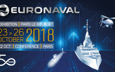 October 2018: Eurocontrol SpA at Euronaval, Paris Le Bourget
