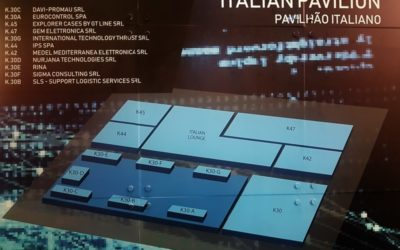 Back from LAAD 2019 Exhibition : the ICE (Italian Trade Agency) pavilion has been a key platform for Italian companies providing Defence and security technologies.