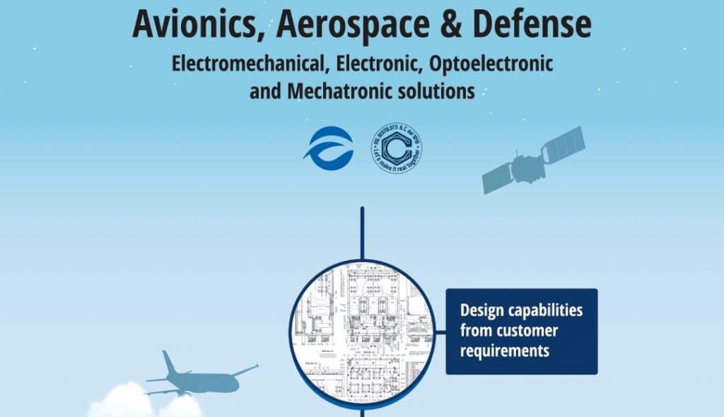 Avionics Aerospace Defence: Electromechanical, Electronic, Optoelectronic and Mechatronic solutions