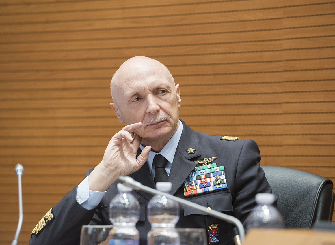 conference THE CHALLENGES OF EUROPE AND THE NEEDS OF NATO-Gen Vecciarelli
