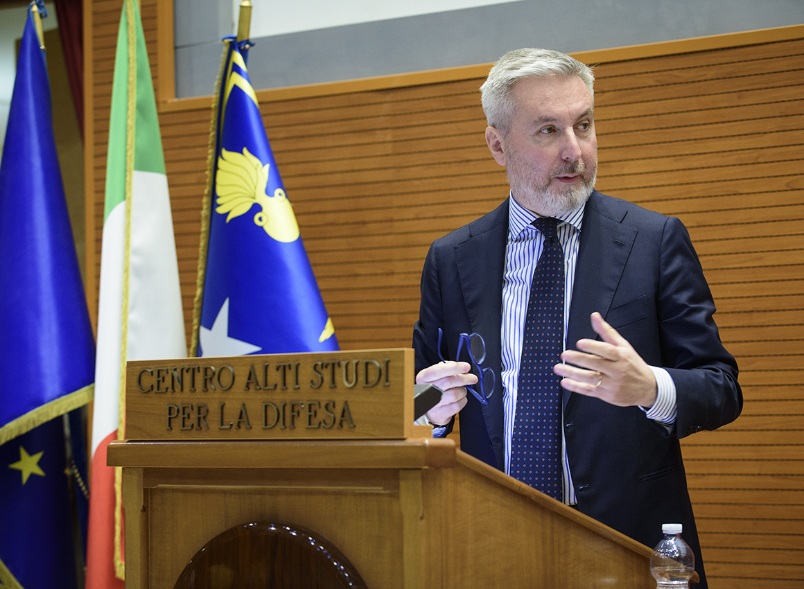 conference THE CHALLENGES OF EUROPE AND THE NEEDS OF NATO- Guerini