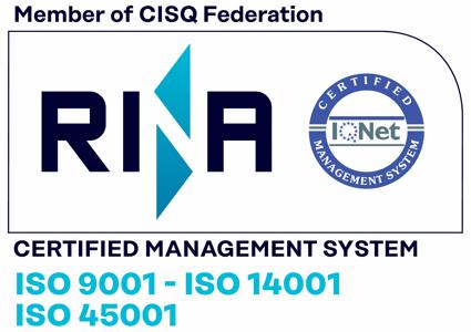 Certificazioni qualità ISO 9001 14001 45001