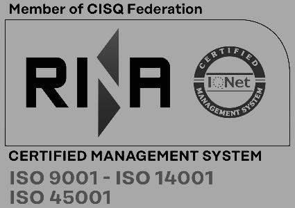 RINA ISO9001 ISO 14001 ISO 45000