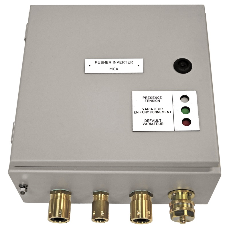 Pusher inverter MCA - Variable speed driver - Q977